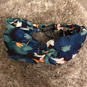 Zara Accessories Floral Print Head Wrap New WOT